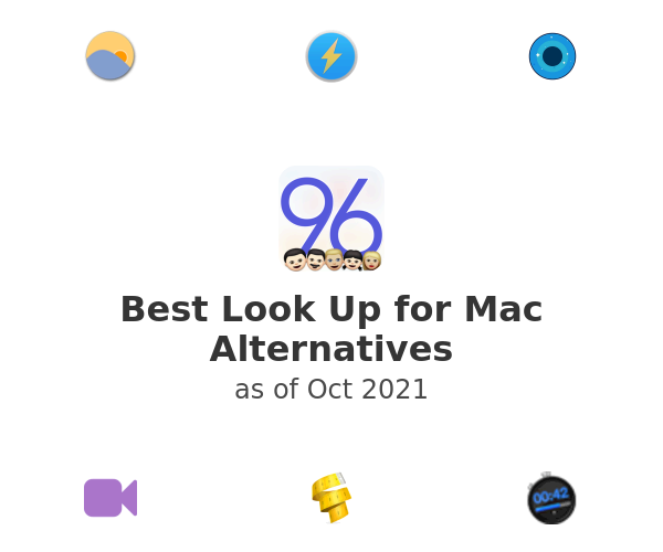Best Look Up for Mac Alternatives