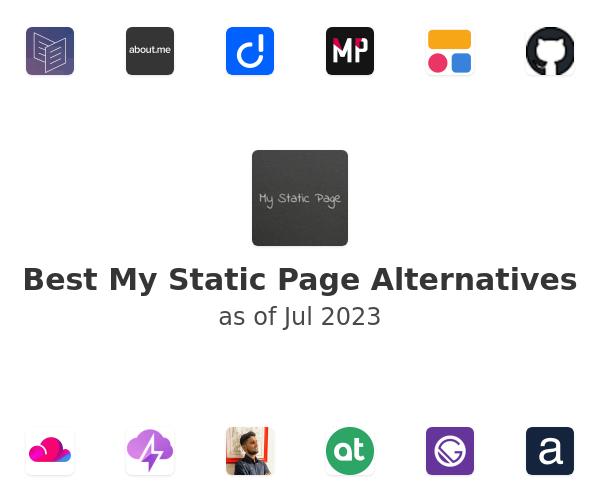 Best My Static Page Alternatives