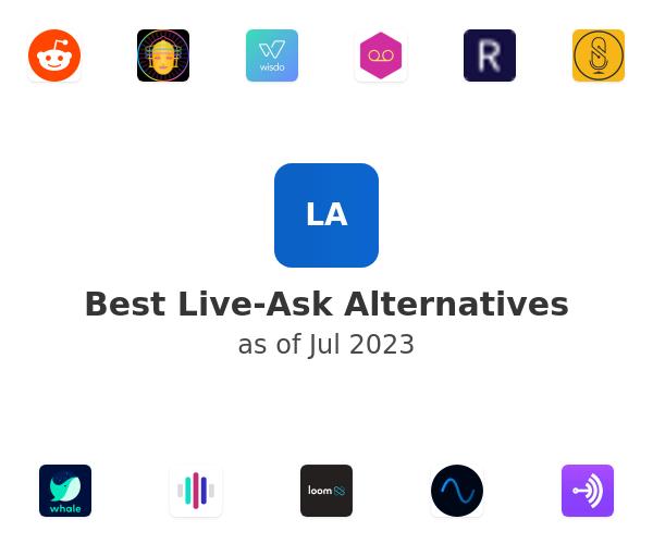 Best Live-Ask Alternatives