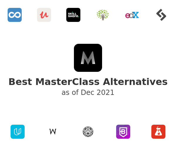 Best MasterClass Alternatives