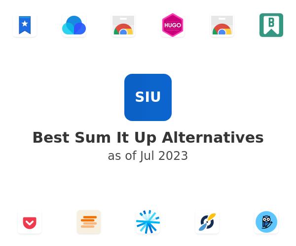 Best Sum It Up Alternatives