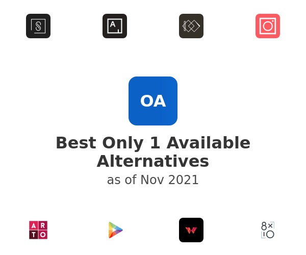 Best Only 1 Available Alternatives