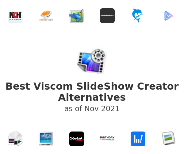 Best Viscom SlideShow Creator Alternatives