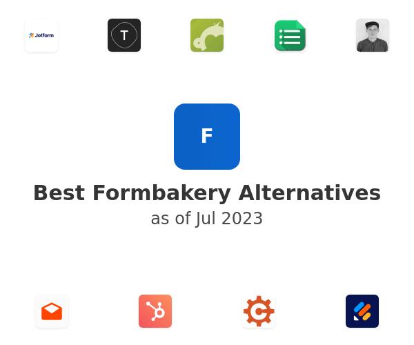 Best Formbakery Alternatives