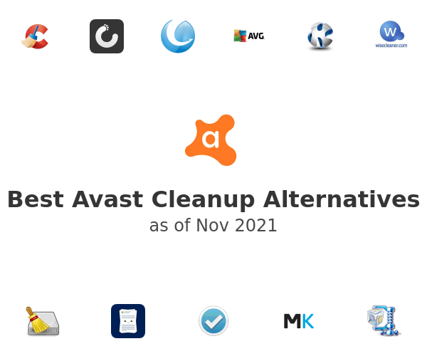 Best Avast Cleanup Alternatives