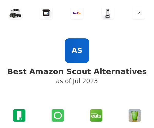 Best Amazon Scout Alternatives