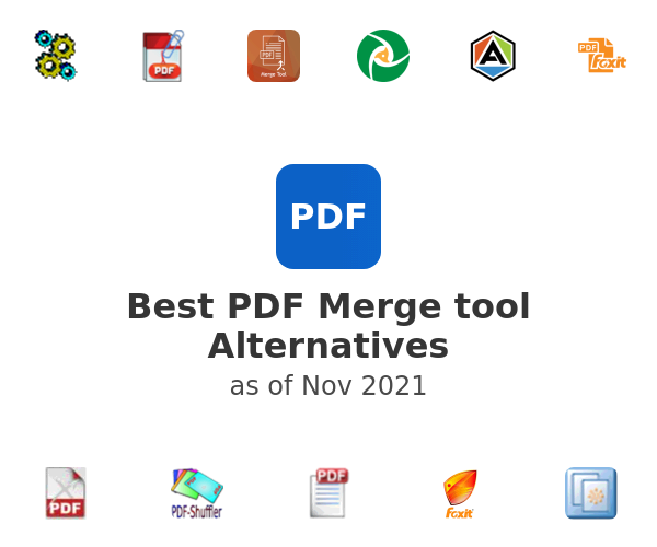 Best PDF Merge tool Alternatives
