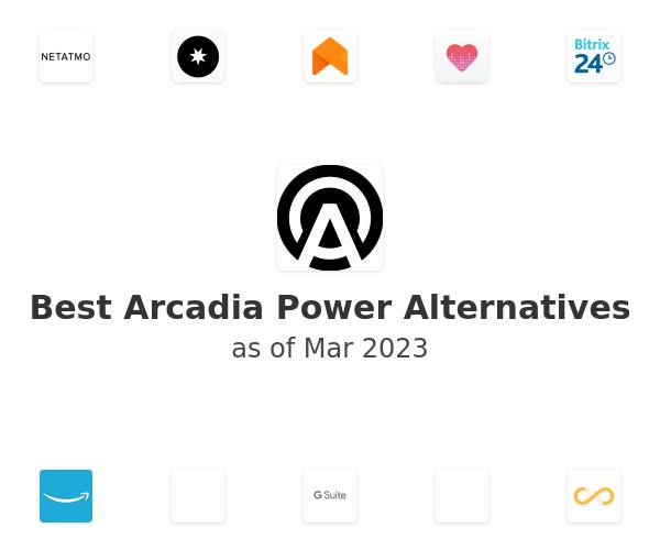 Best Arcadia Power Alternatives