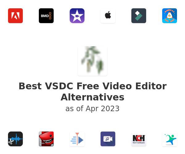 Best VSDC Free Video Editor Alternatives