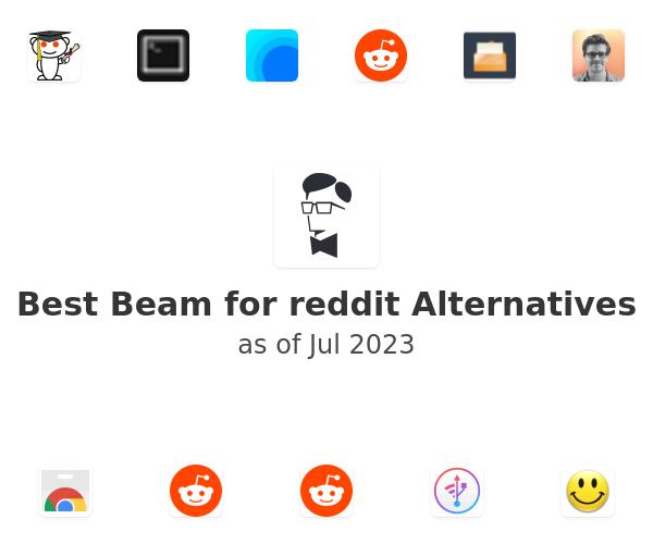 Best Beam for reddit Alternatives