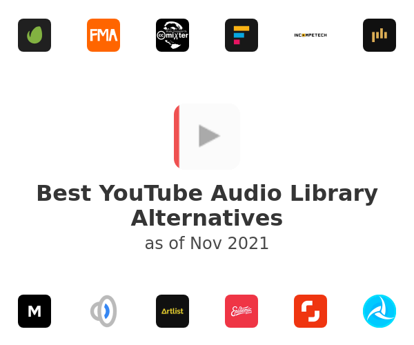 Best YouTube Audio Library Alternatives