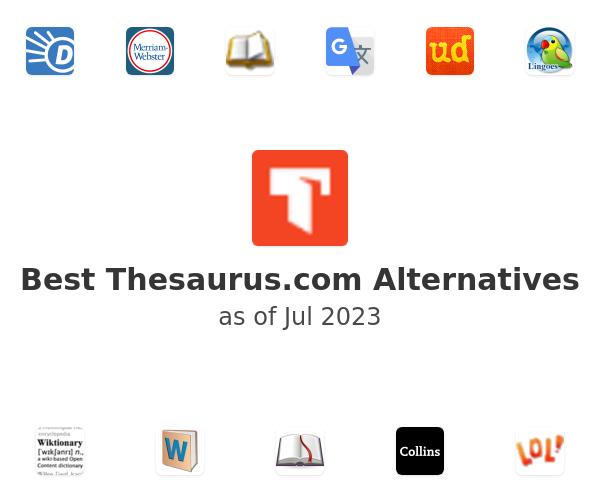 Best Thesaurus.com Alternatives