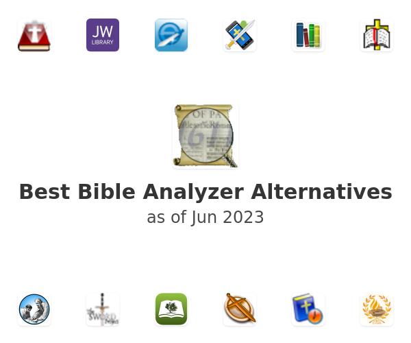 Best Bible Analyzer Alternatives