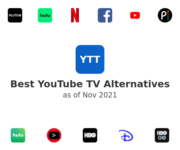 Best YouTube TV Alternatives