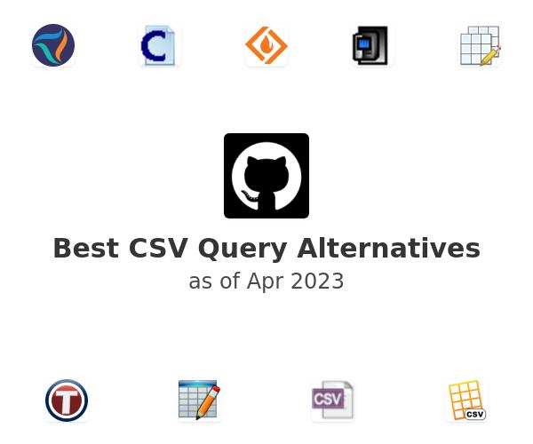 Best CSV Query Alternatives