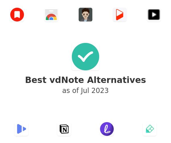 Best vdNote Alternatives