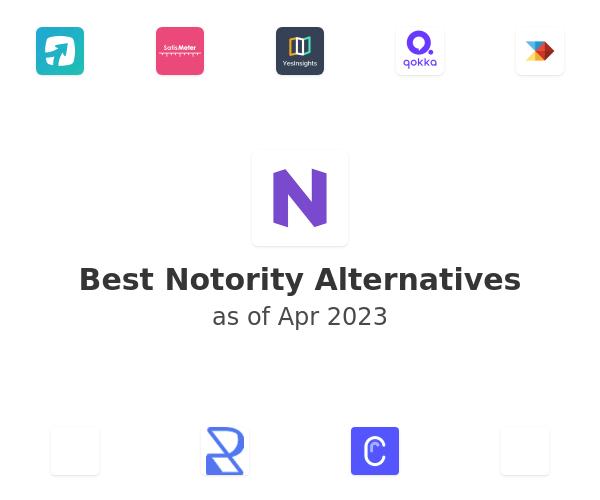 Best Notority Alternatives