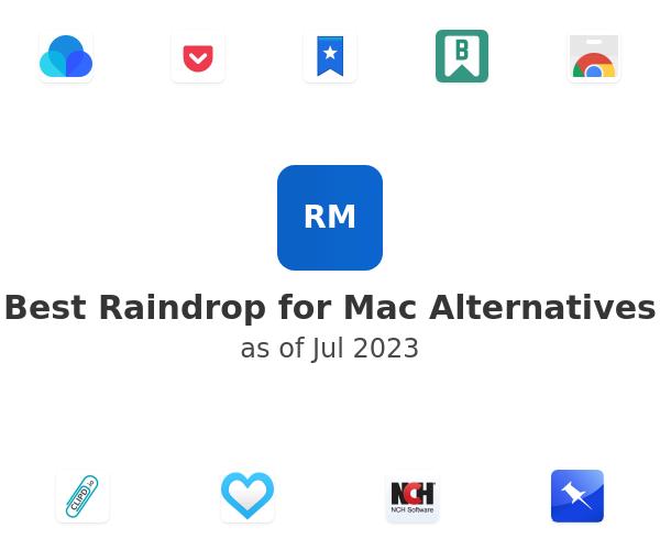 Best Raindrop for Mac Alternatives