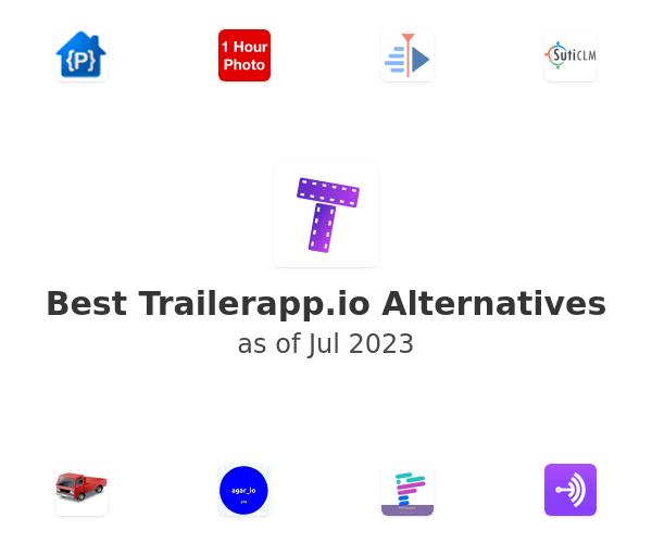 Best Trailerapp.io Alternatives