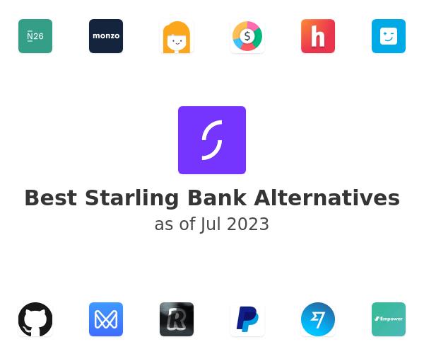 Best Starling Bank Alternatives