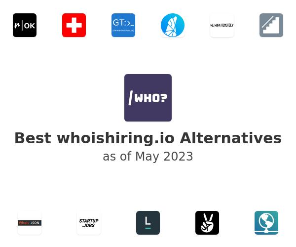 Best whoishiring.io Alternatives