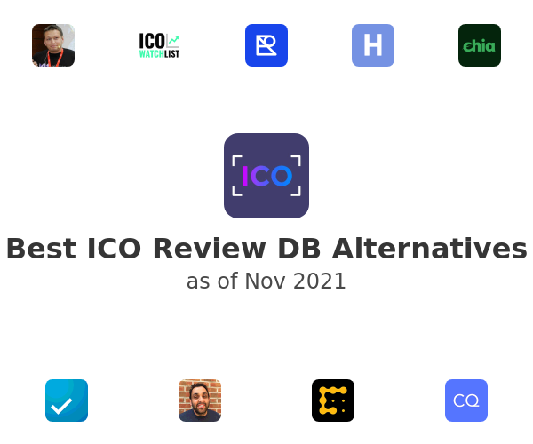 Best ICO Review DB Alternatives