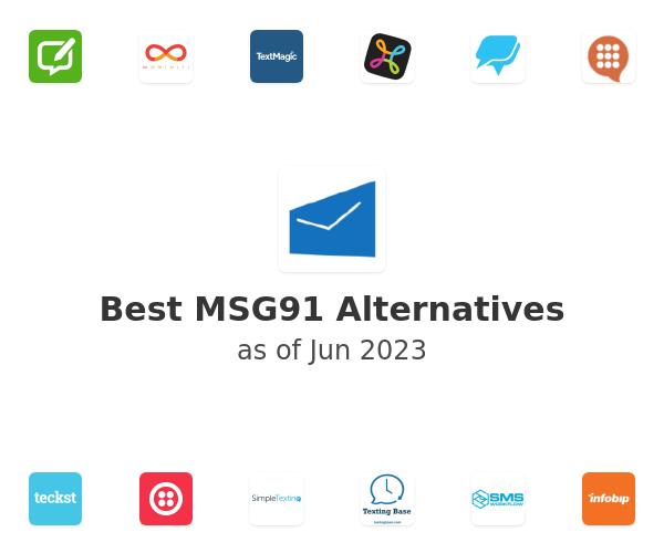 Best MSG91 Alternatives