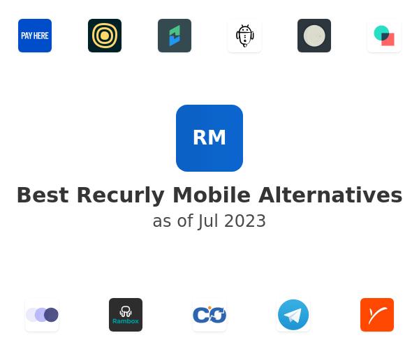 Best Recurly Mobile Alternatives
