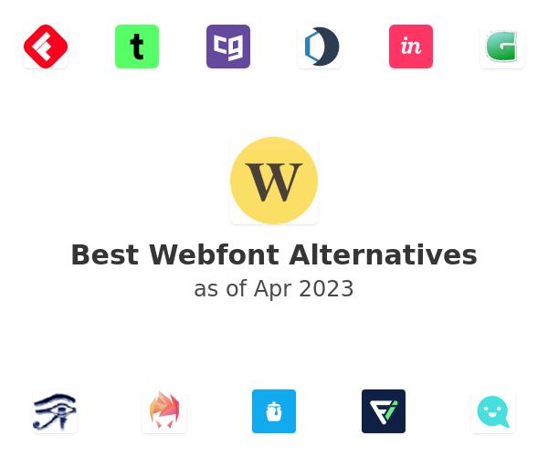 Best Webfont Alternatives