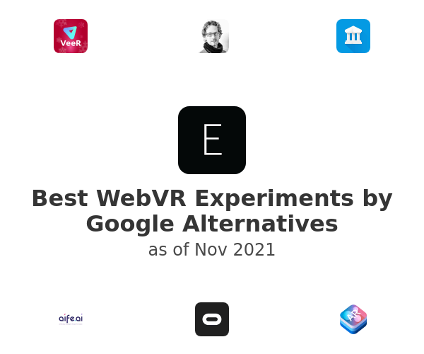 Best WebVR Experiments by Google Alternatives