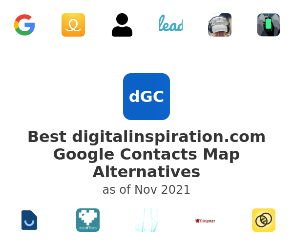 Best Google Contacts Map Alternatives
