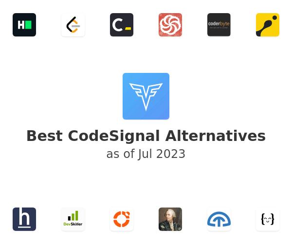 Best CodeSignal Alternatives
