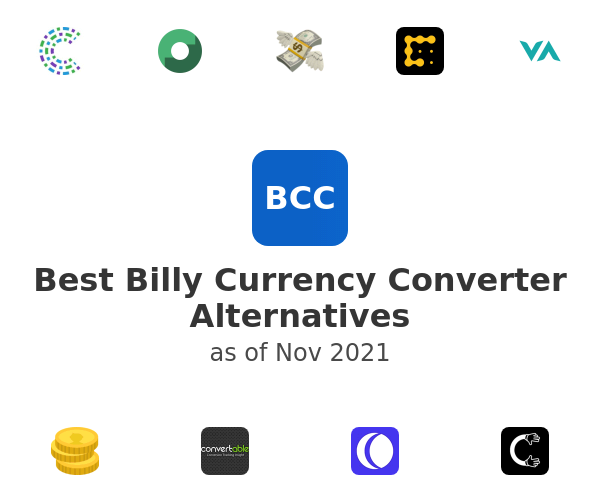 Best Billy Currency Converter Alternatives
