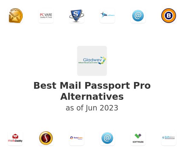 Best Mail Passport Pro Alternatives