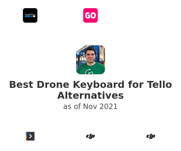 Best Drone Keyboard for Tello Alternatives