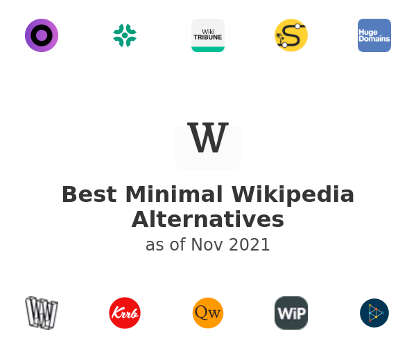 Best Minimal Wikipedia Alternatives