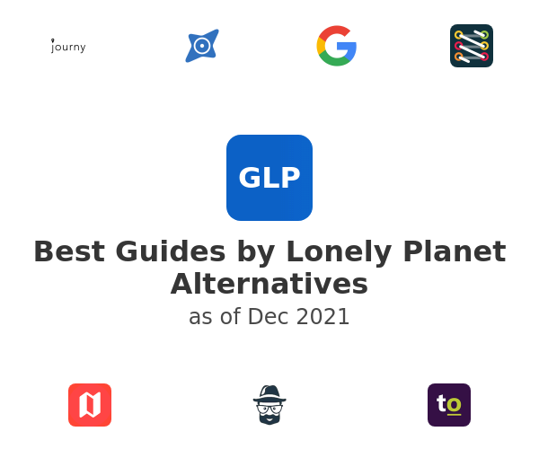 Best Guides by Lonely Planet Alternatives