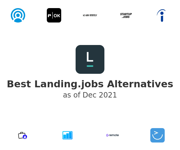 Best Landing.jobs Alternatives