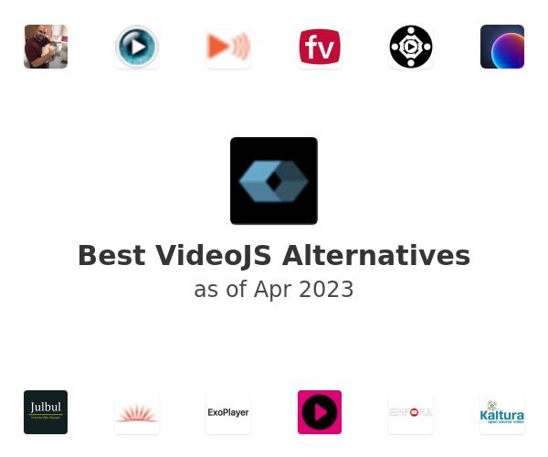 Best VideoJS Alternatives