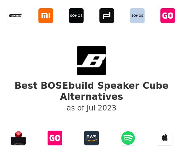 Best BOSEbuild Speaker Cube Alternatives