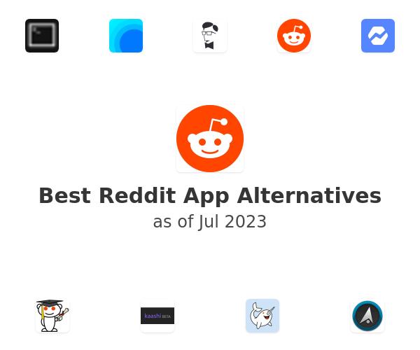 Best Reddit App Alternatives