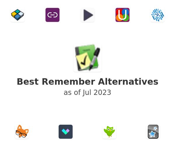 Best Remember Alternatives