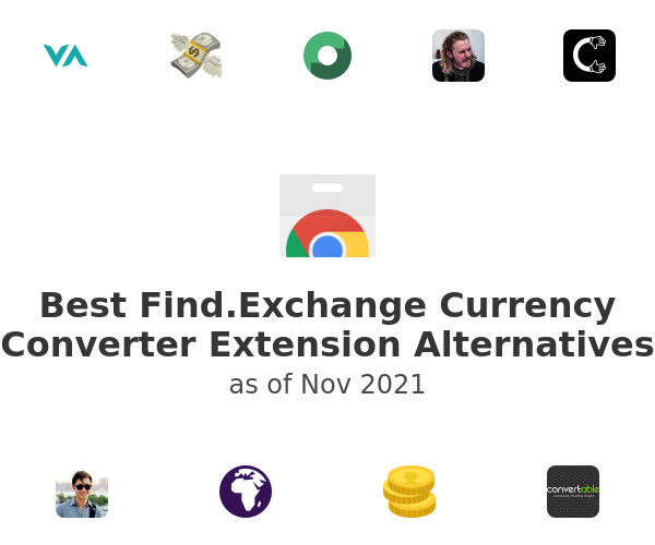 Best Find.Exchange Currency Converter Alternatives