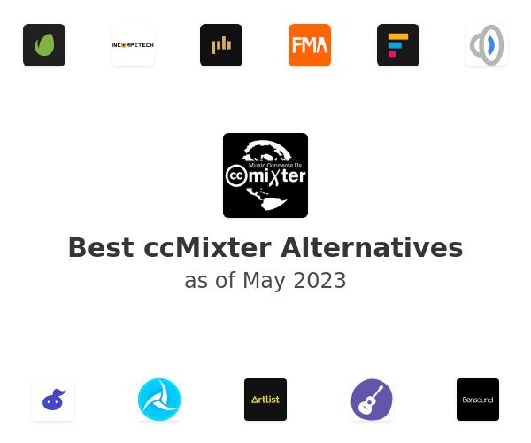 Best ccMixter Alternatives