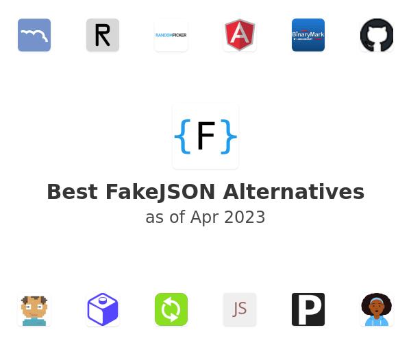 Best FakeJSON Alternatives