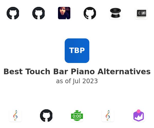 Best Touch Bar Piano Alternatives