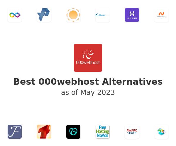 Best 000webhost Alternatives
