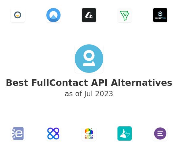 Best FullContact API Alternatives