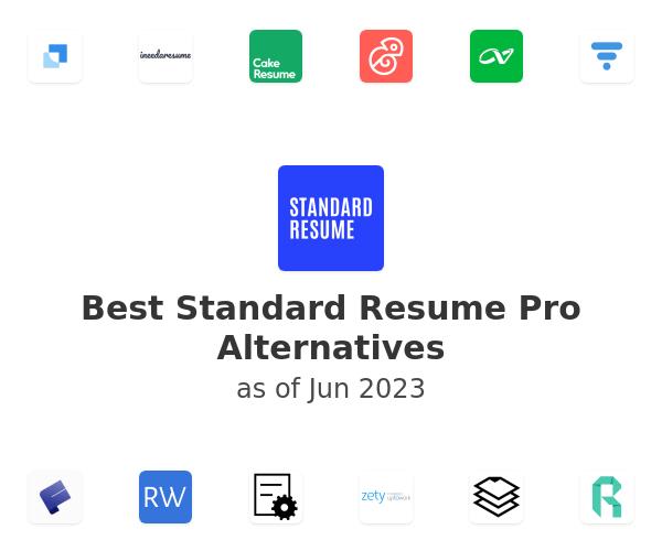 Best Standard Resume Pro Alternatives