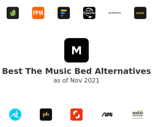 Best The Music Bed Alternatives